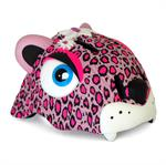 Crazy Safety Pink Leopard med LED lampa