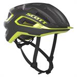 Scott Arx Plus (Mips) Cykelhjälm Dark Grey Radium Yellow 51-55 cm